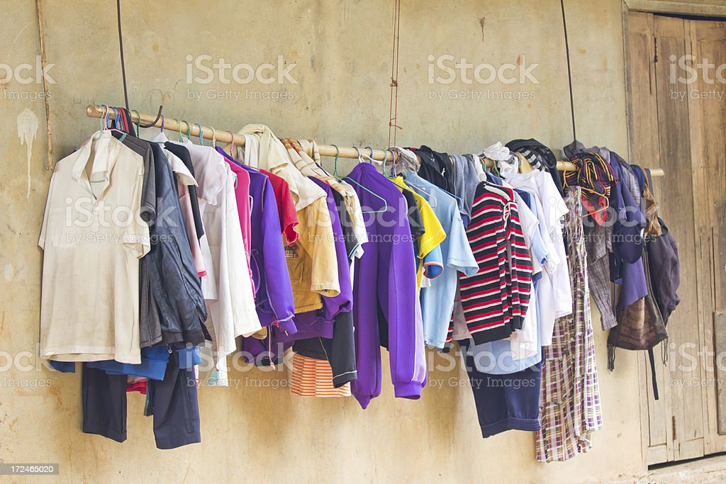 Rural Life in Thailand royalty-free stock photo