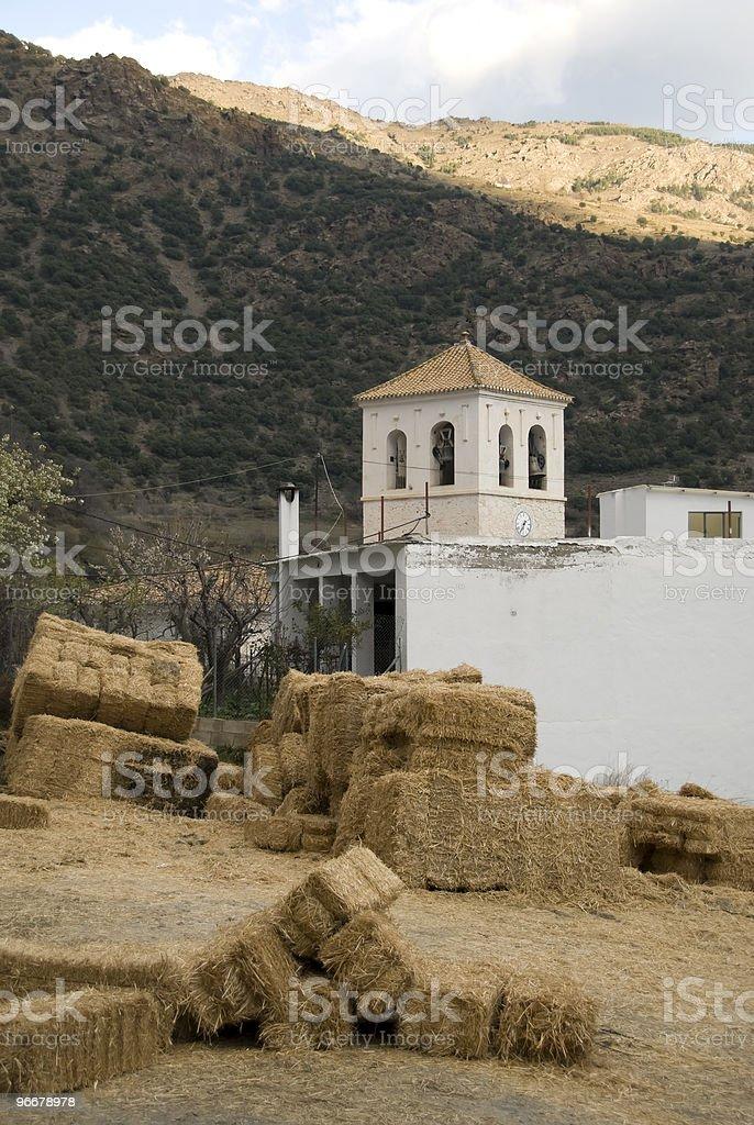 Rural life in Trevelez stock photo