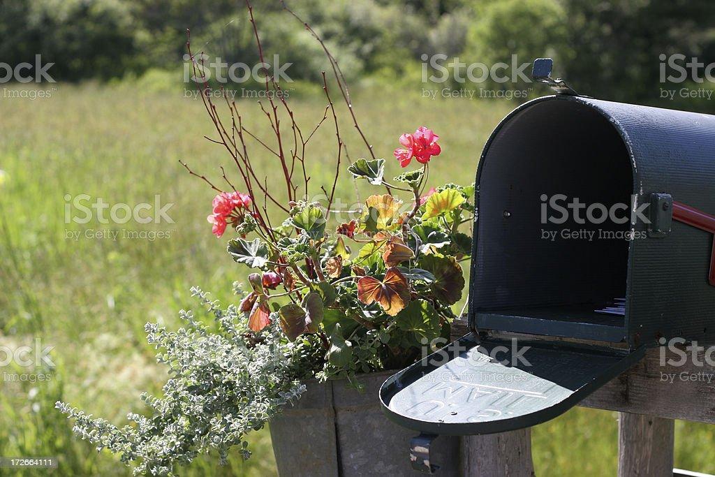 rural mailbox royalty-free stock photo