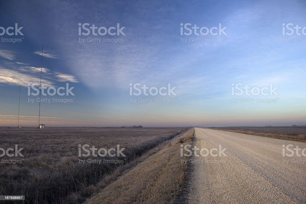 Rural Manitoba royalty-free stock photo