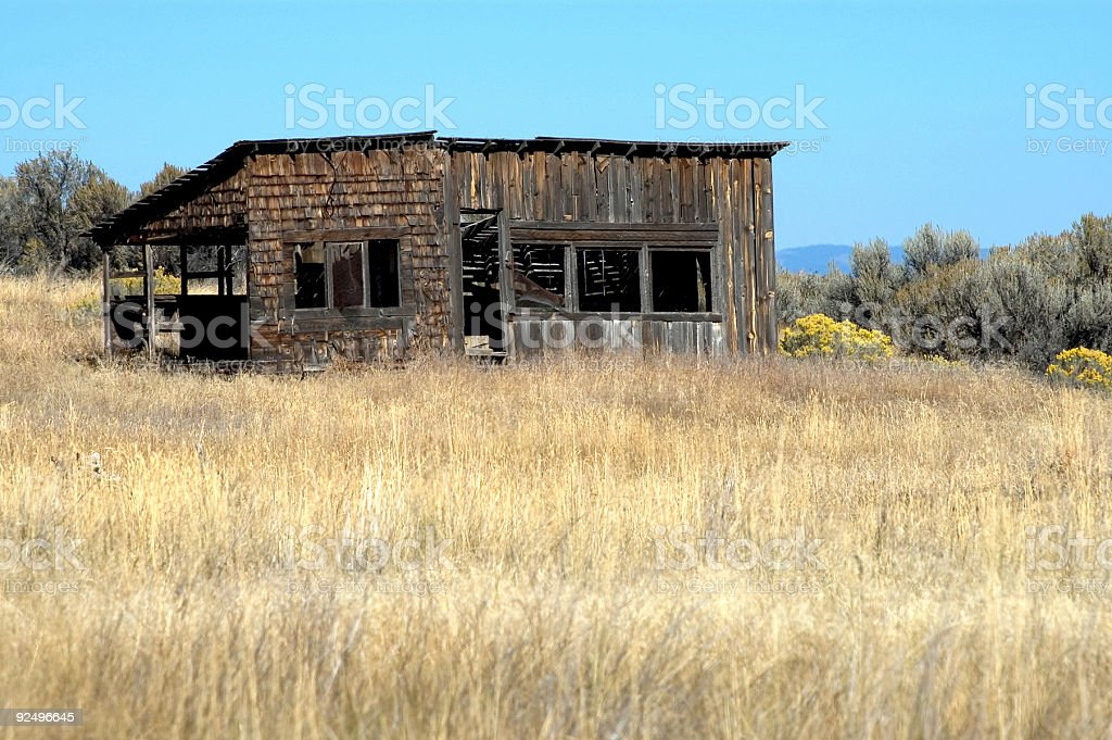 Rural - Old Buidling 1 royalty-free stock photo