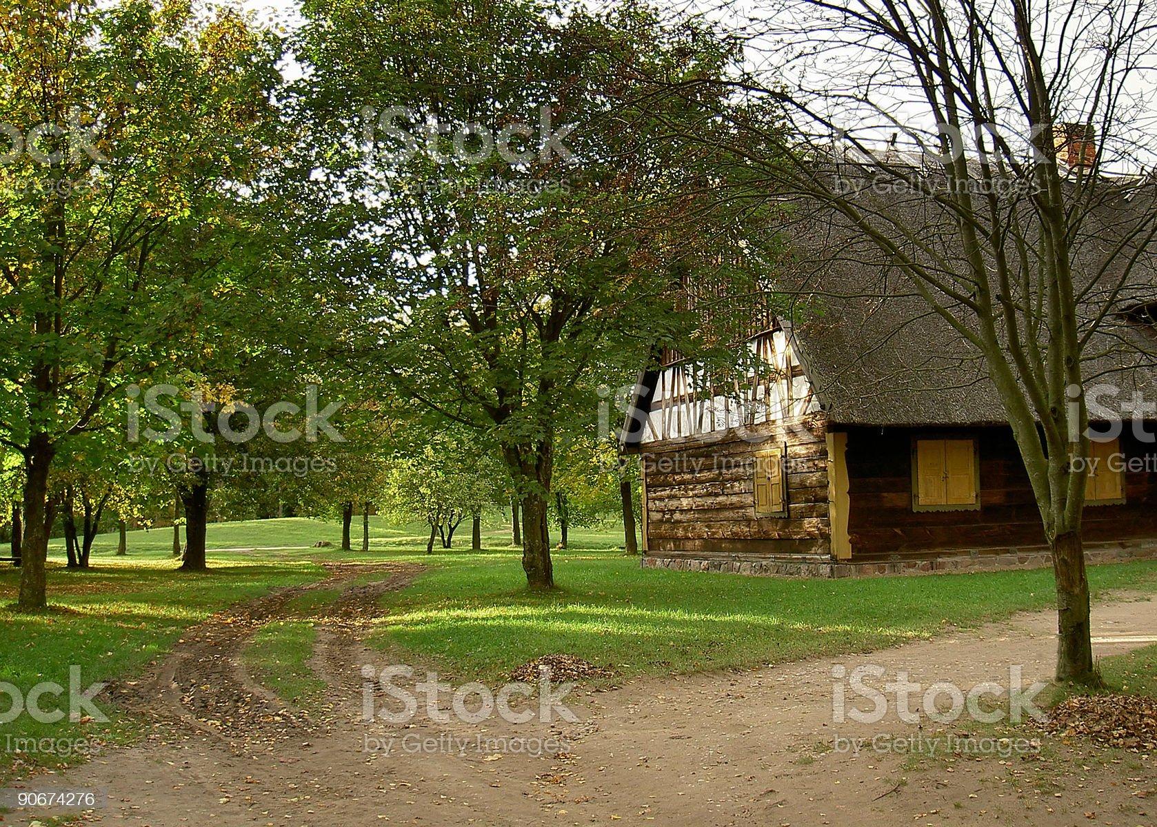 rural paths royalty-free stock photo