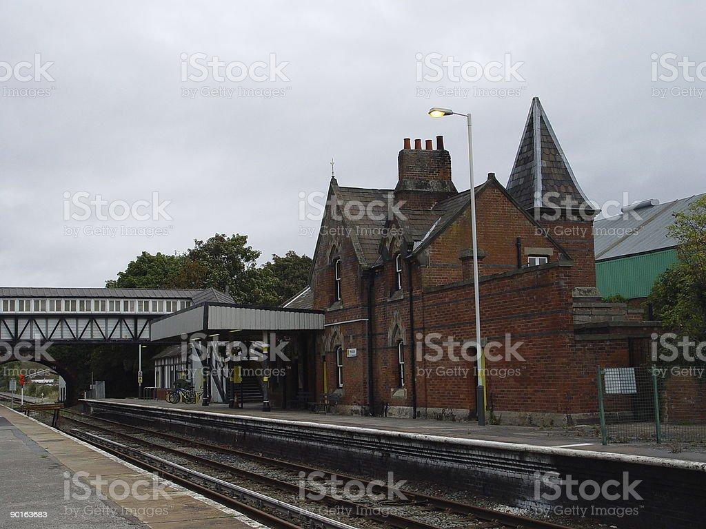 Rural Railway royalty-free stock photo