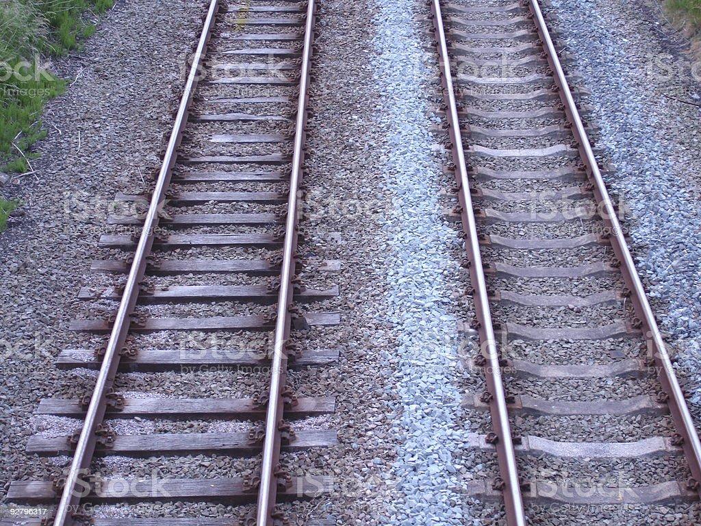 Rural Railway stock photo
