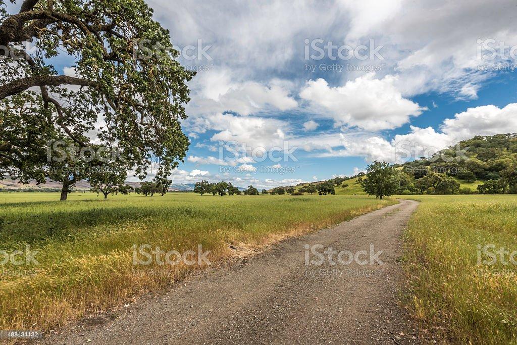Rural Ranch stock photo
