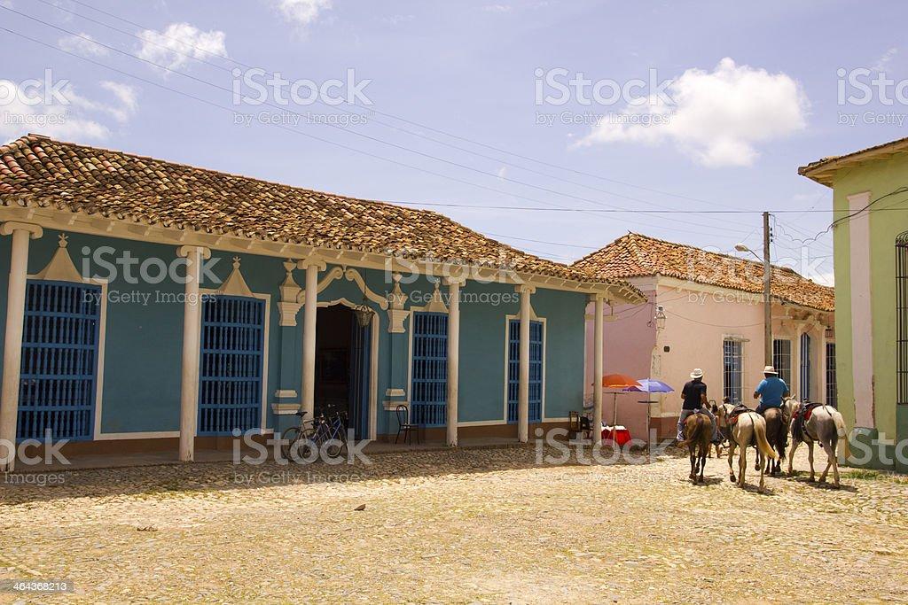 Rural Scene. Trinidad stock photo