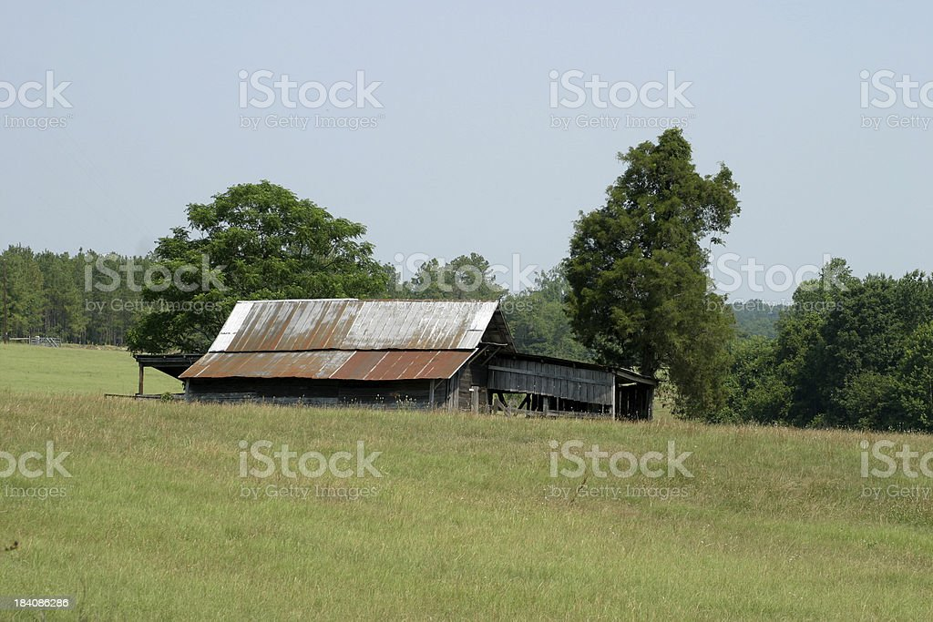 Rural South Carolina 1 royalty-free stock photo