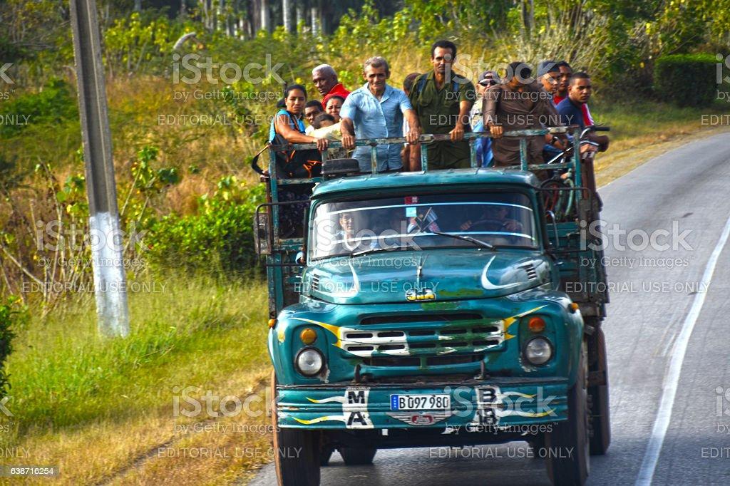 Rural transportation stock photo