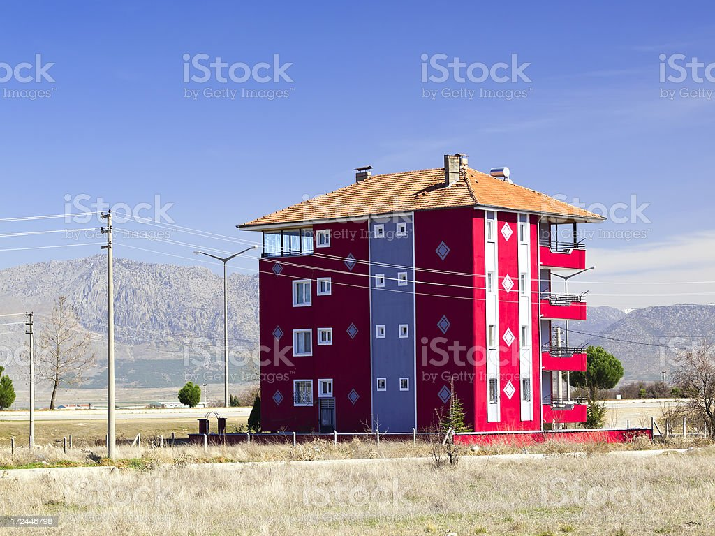 Rural Turkey royalty-free stock photo