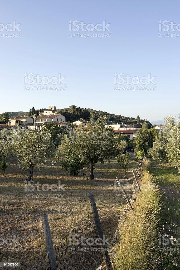 Rural Tuscany royalty-free stock photo