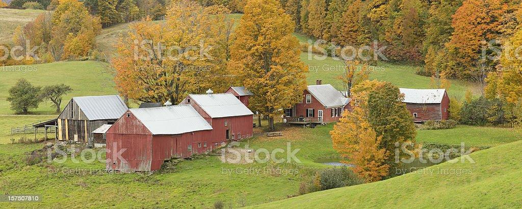 Rural Vermont stock photo