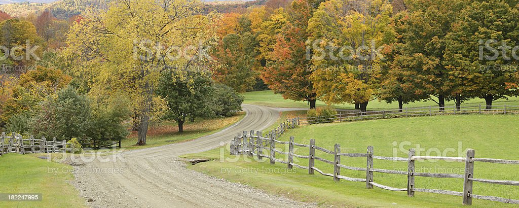Rural Vermont royalty-free stock photo