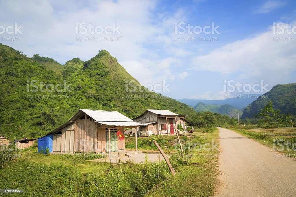 rural vietnam landscape royalty-free stock photo