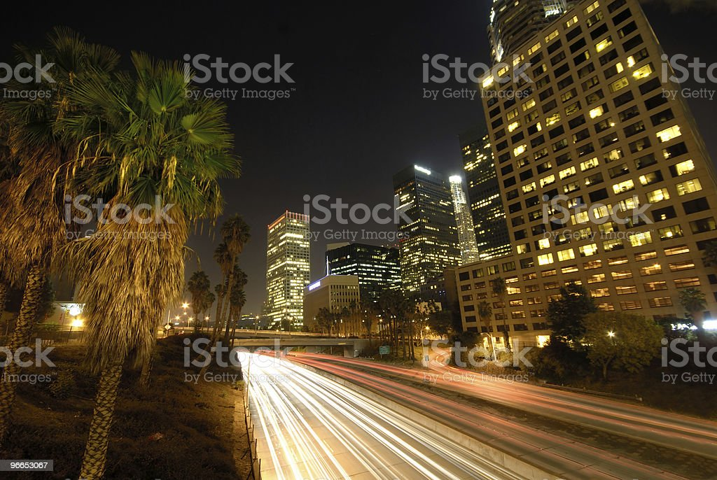 Rush Highway stock photo