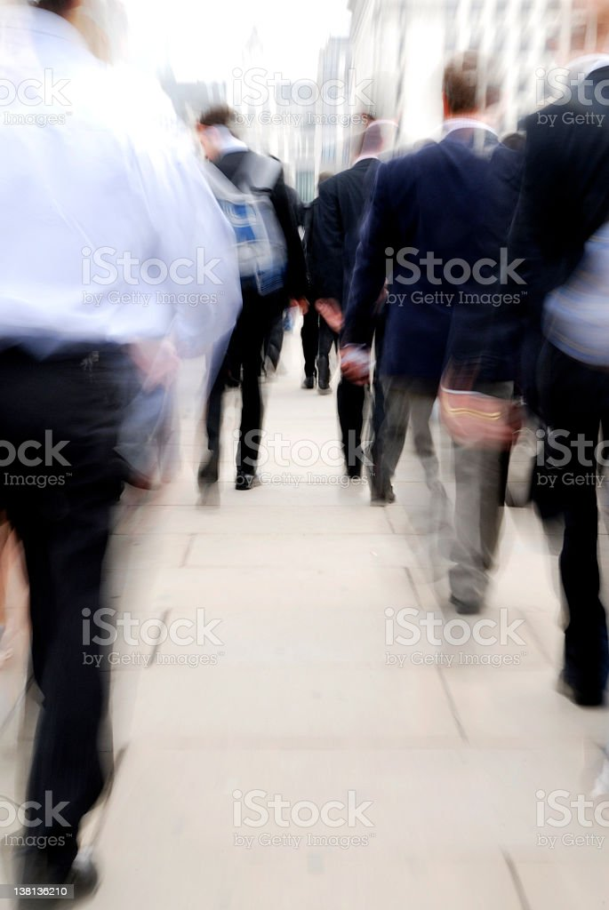 Rush Hour royalty-free stock photo