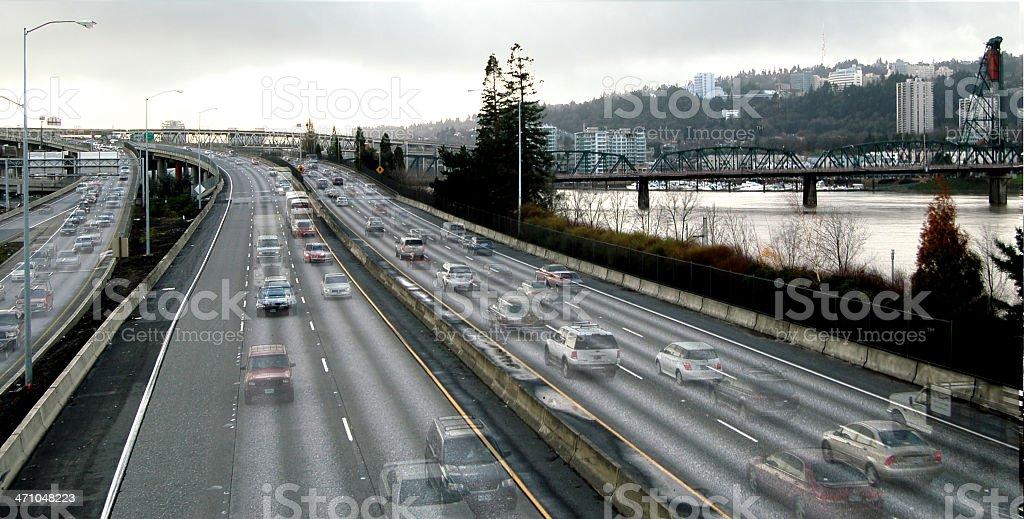 Rush Hour stock photo