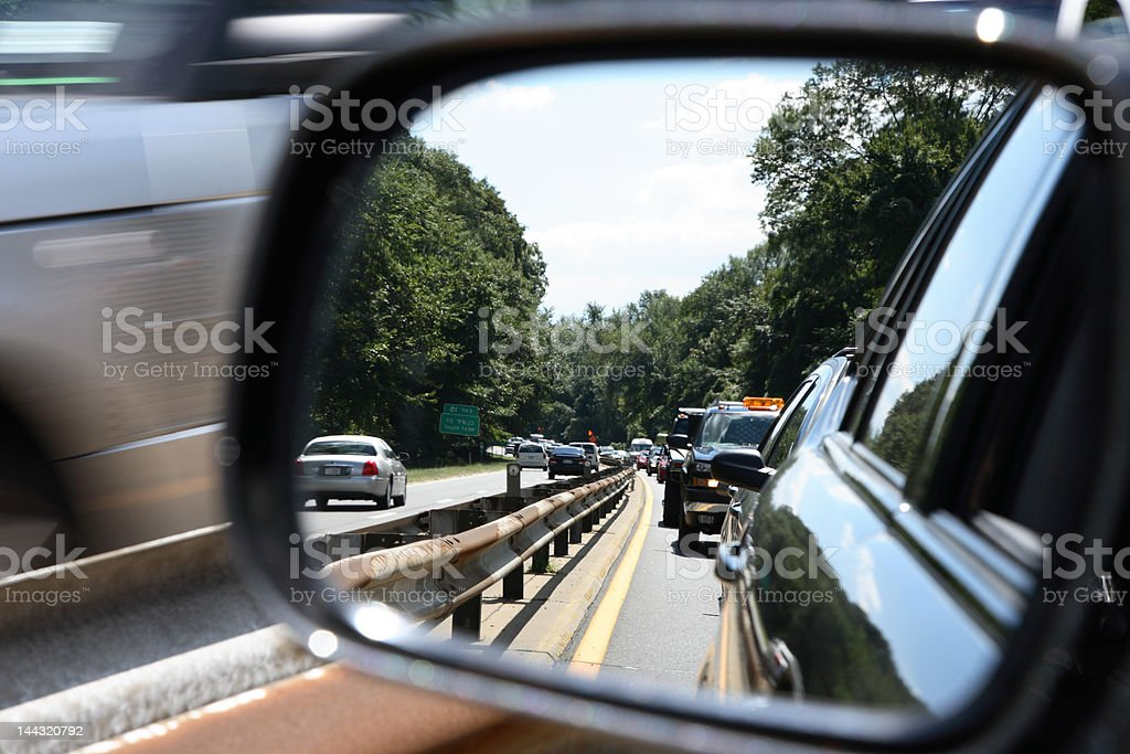 rush hour traffic royalty-free stock photo