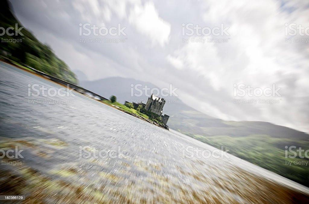 Rush To Scotland royalty-free stock photo