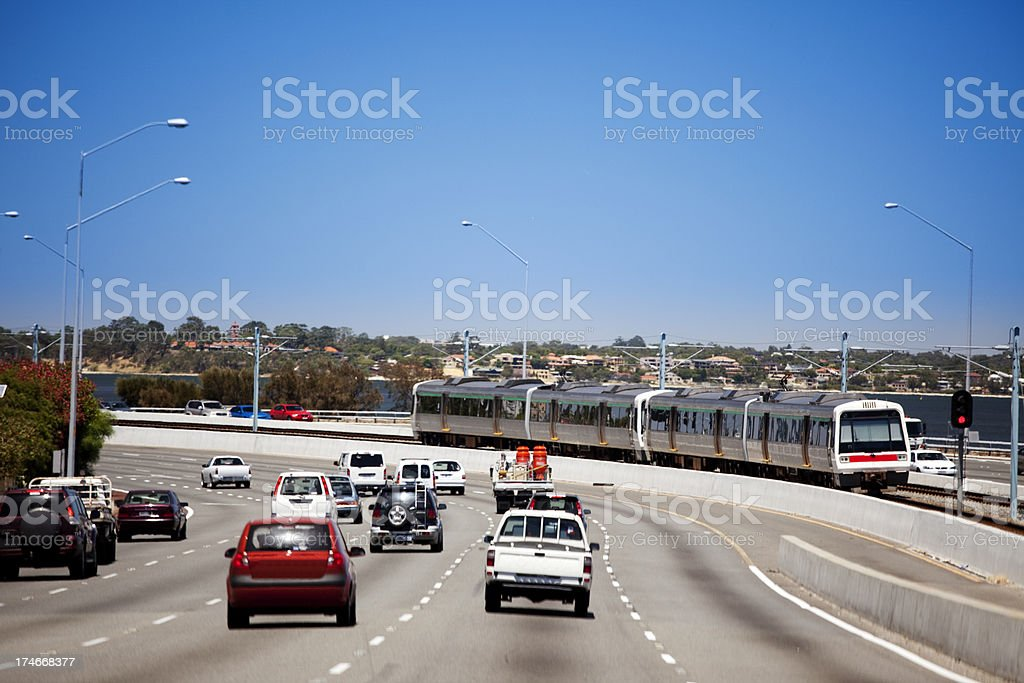 Rush-hour royalty-free stock photo
