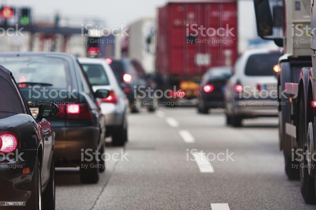 rush-hour stock photo