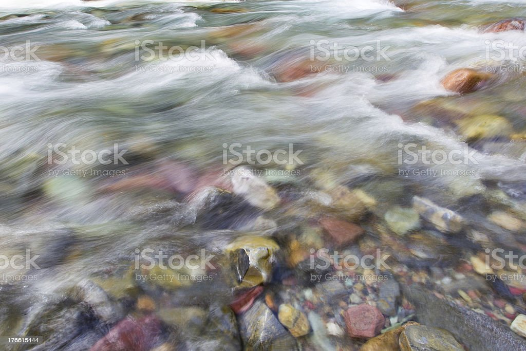 Rushing Creek royalty-free stock photo
