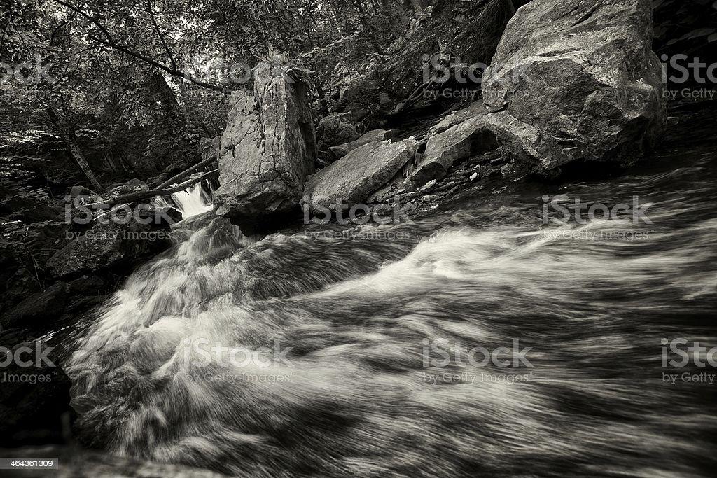 rushing creek royalty-free stock photo