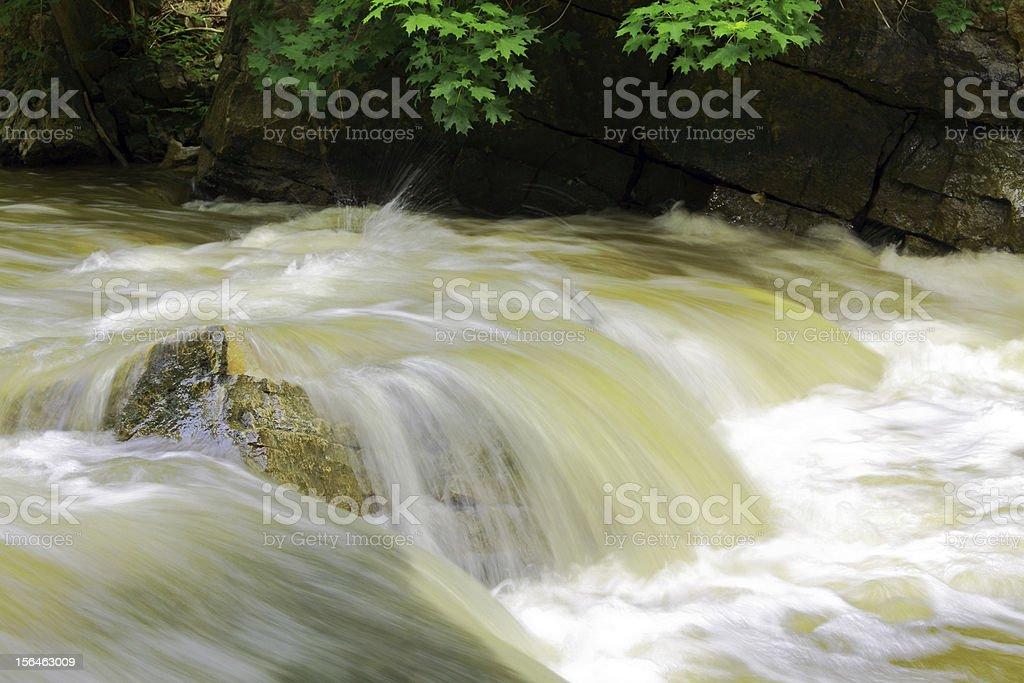 Rushing Rapids stock photo