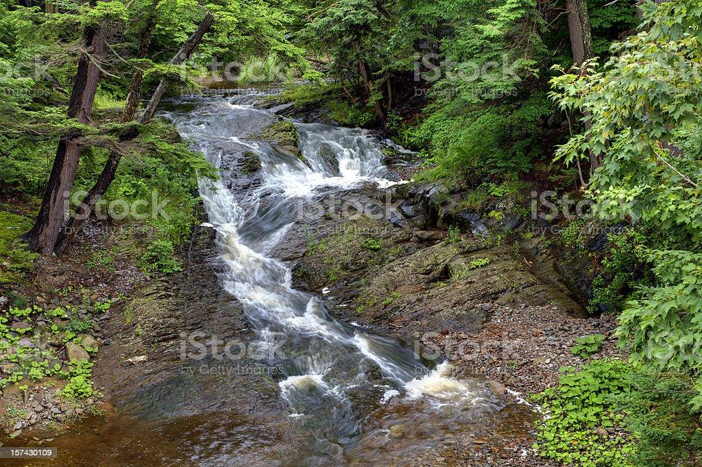 (Rushing Stream royalty-free stock photo