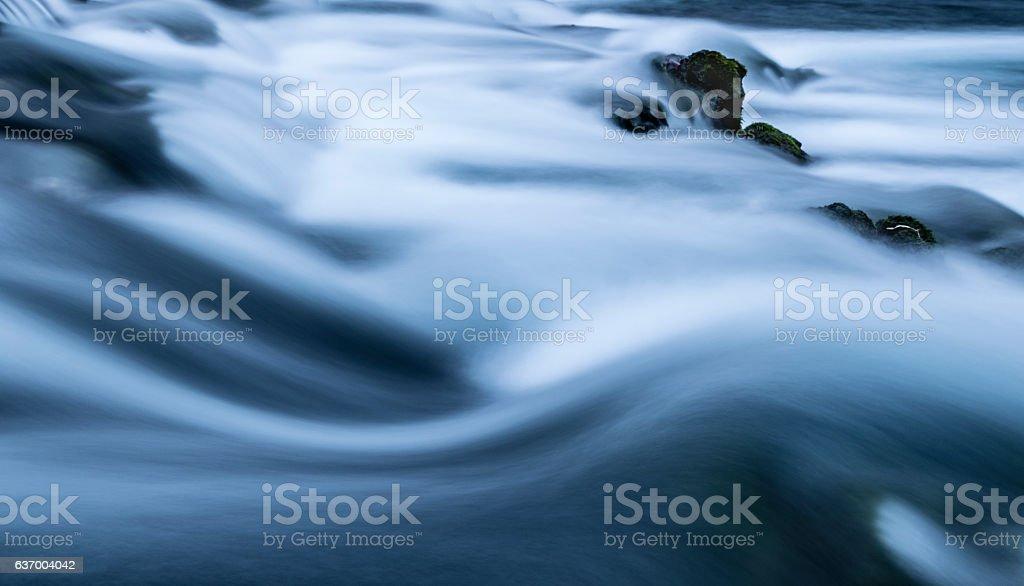 Rushing Water Background stock photo