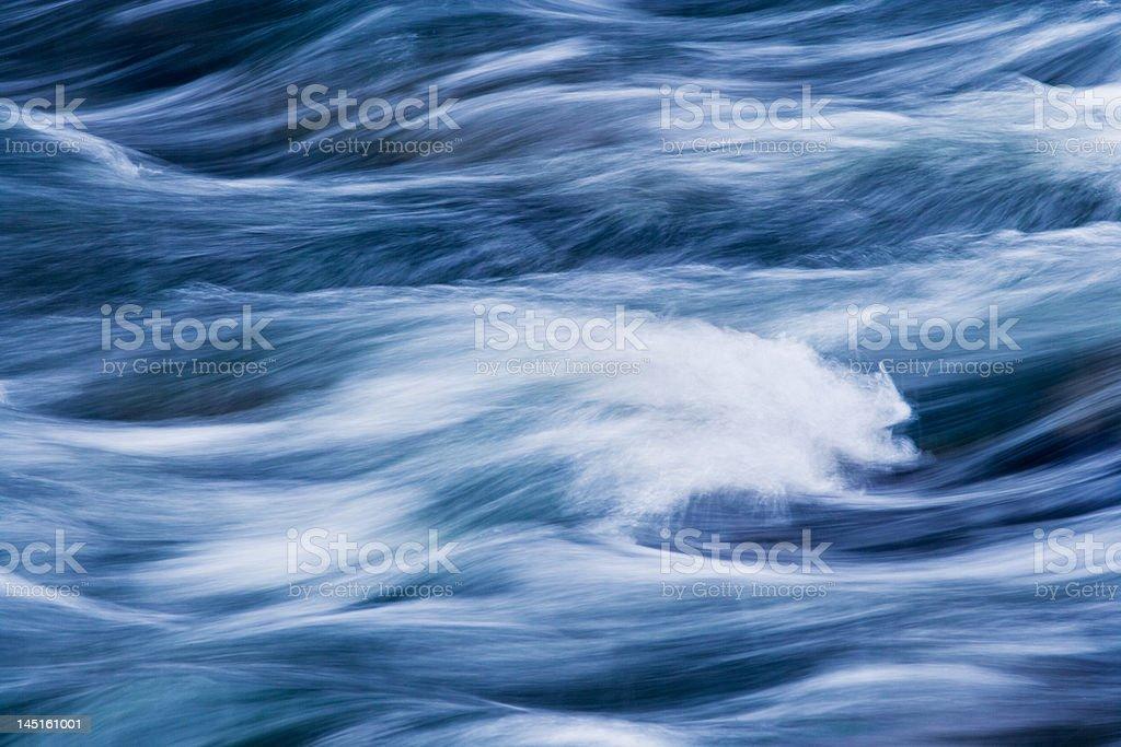Rushing Water royalty-free stock photo