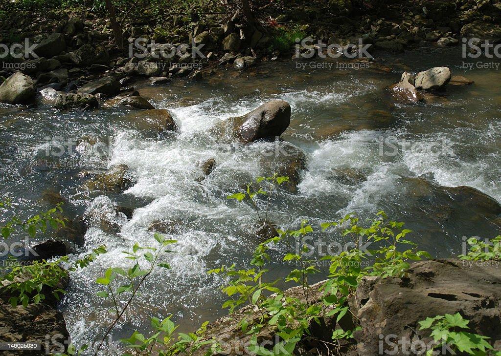 Rushing Waters royalty-free stock photo