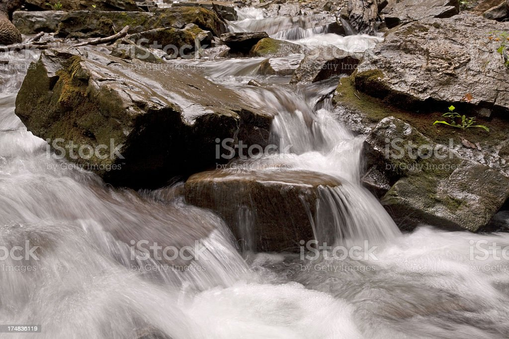 Rushing Waters royalty-free stock photo