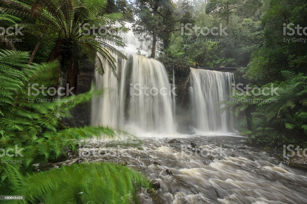 Russell Falls stock photo