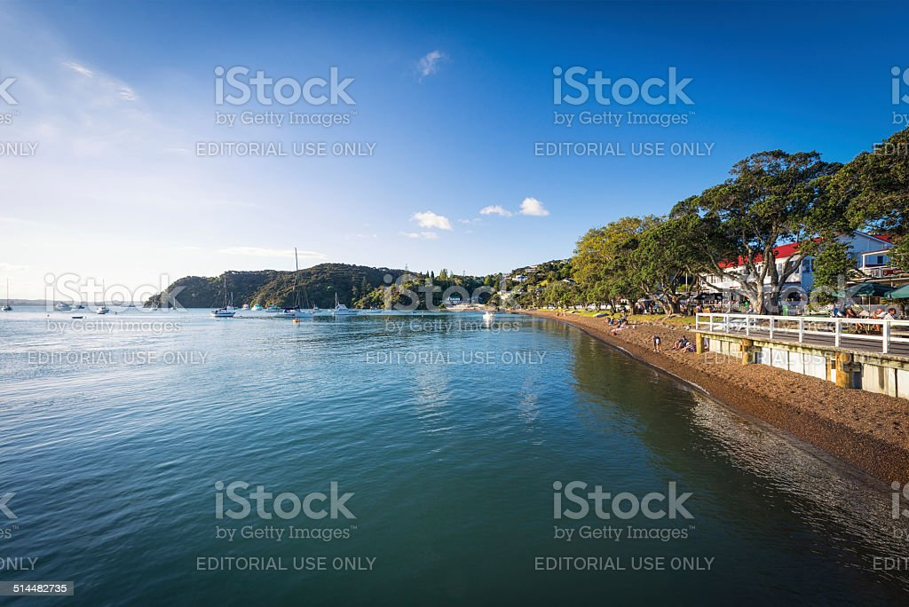 Russell, New Zealand stock photo