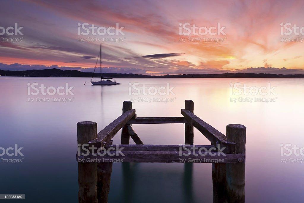 Russell coucher du soleil photo libre de droits
