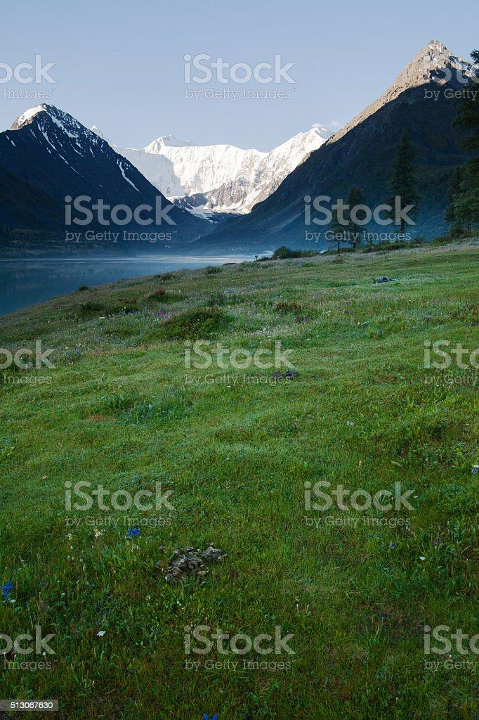 Russia, Altai, Beluha stock photo