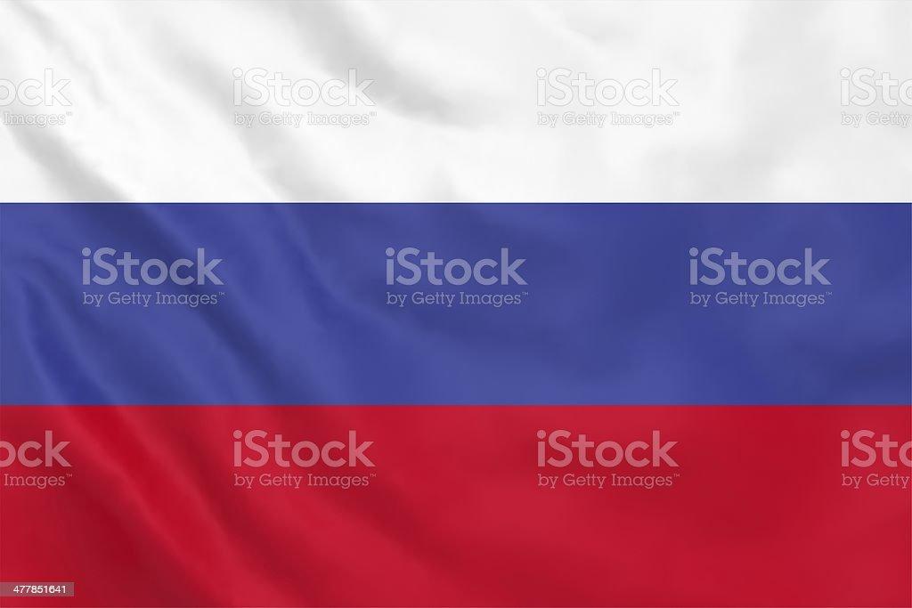 Russia Flag stock photo