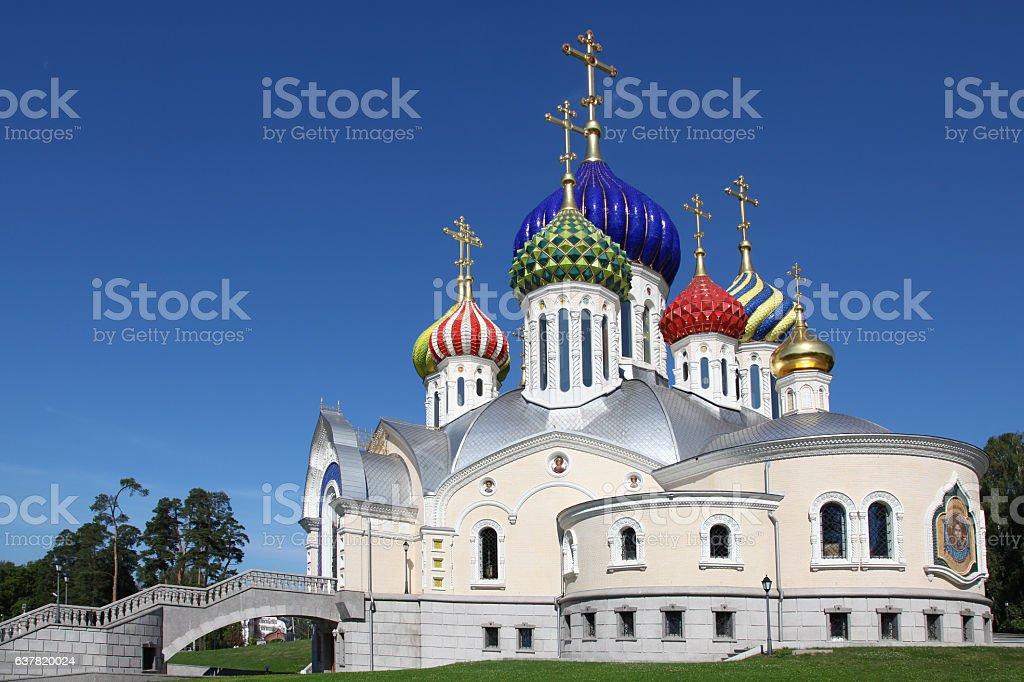 Russia. Moscow. Church of the Holy Igor of Chernigov stock photo