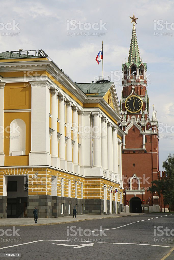 Russia Moscow Kremlin Building royalty-free stock photo