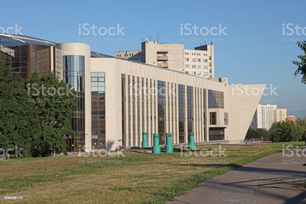 Russia. Moscow. MGIMO (Moscow state institute of International relations) building stock photo