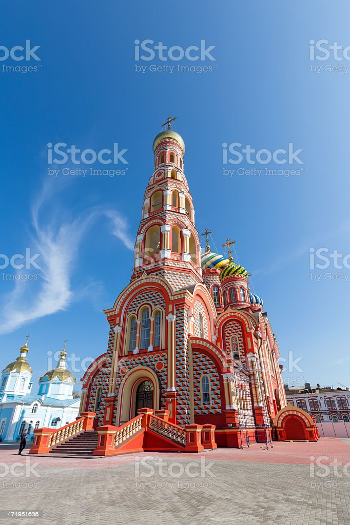 Russia. Tambov. Cathedral of the Ascension in Ascension Monaster stock photo