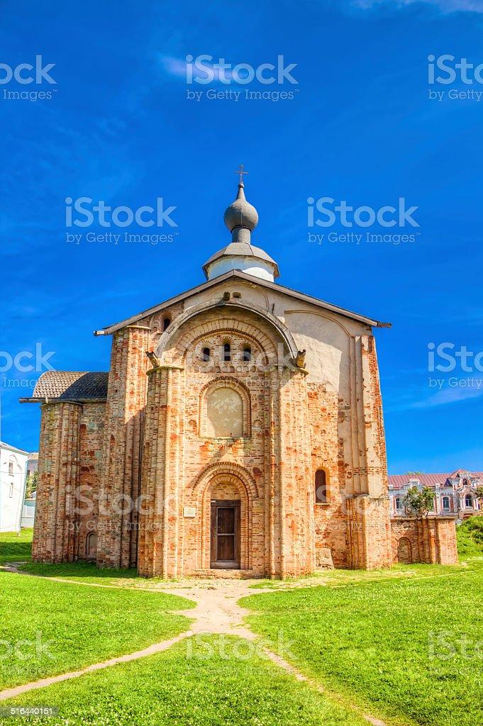 Russia Veliky Novgorod Church  St Paraskeva Speculations stock photo