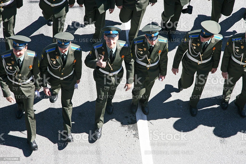 Russian army stock photo