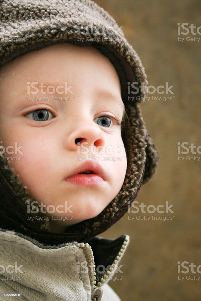 Russian boy stock photo