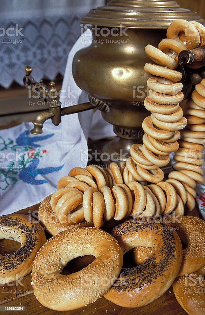 Russian breakfast royalty-free stock photo