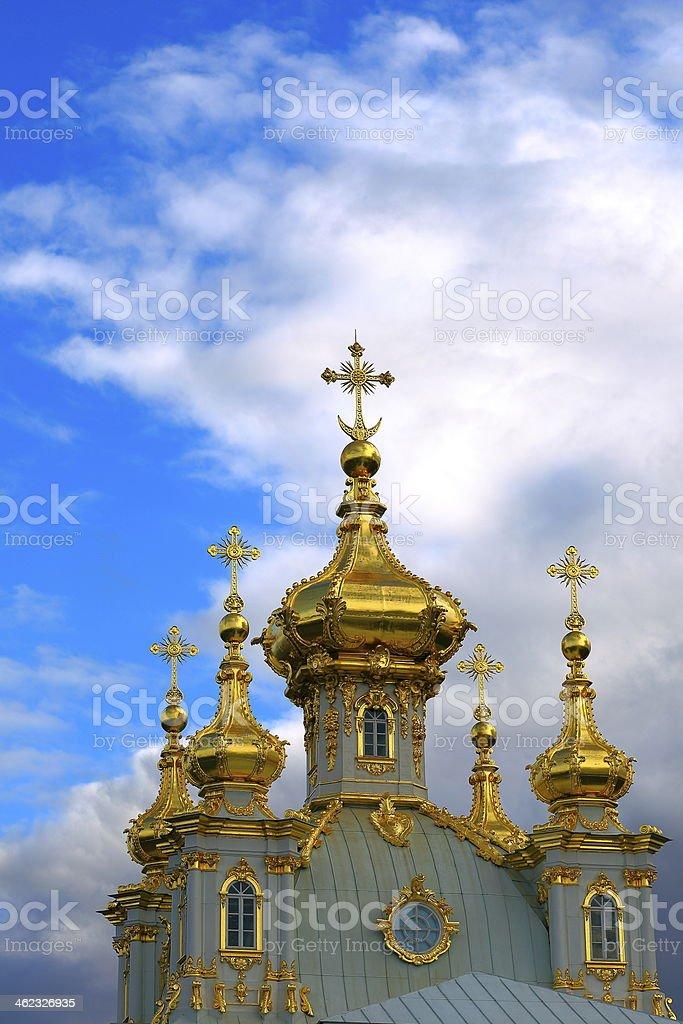 Russian Chapel stock photo