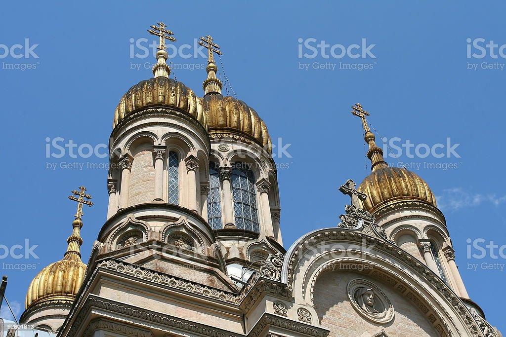 Russian Chapel royalty-free stock photo