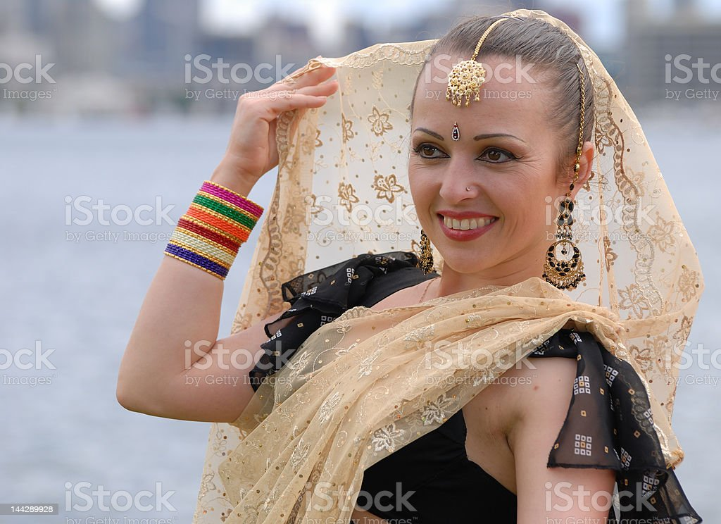 Russian Dancer royalty-free stock photo