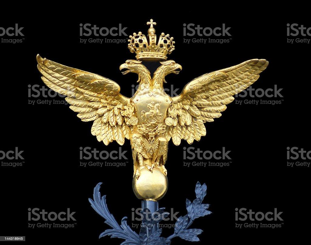 Russian emblem royalty-free stock photo
