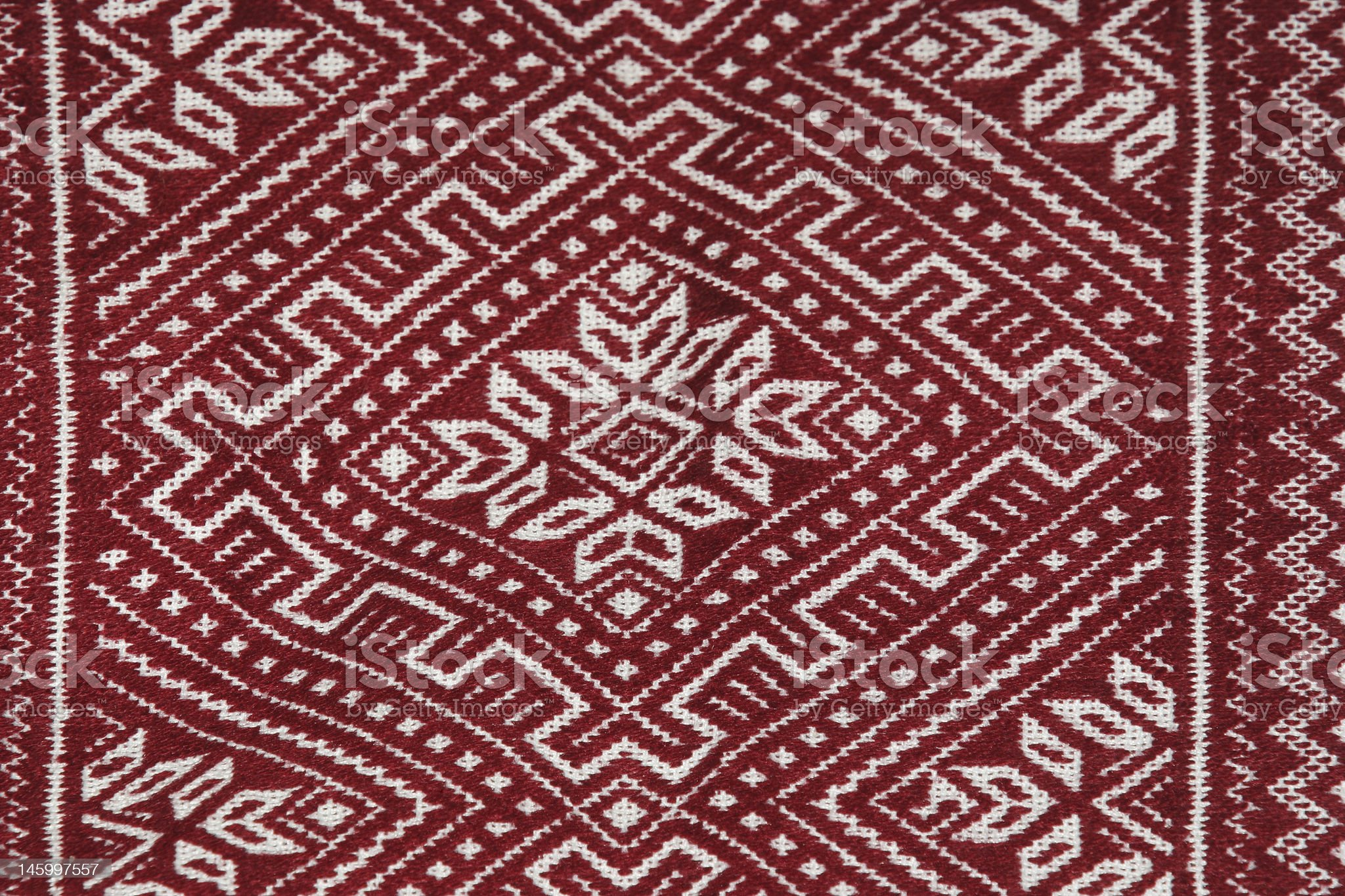 Russian ethnic embroidery royalty-free stock photo